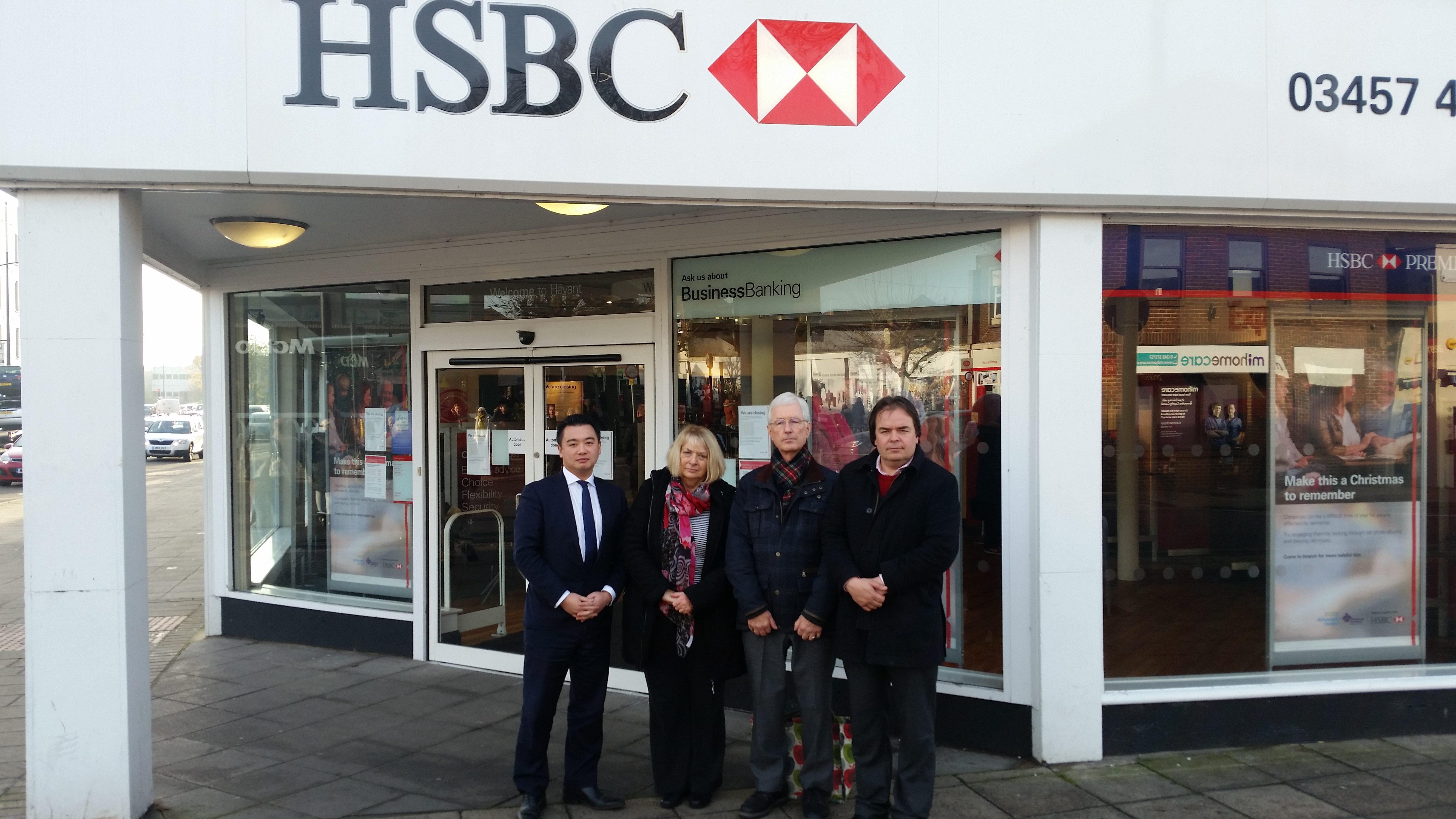 Havant HSBC bank closure | Alan Mak