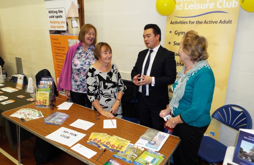 Alan Mak Older Persons Information Fair