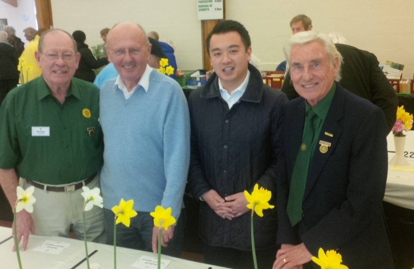 Alan Mak visits the Hayling Horticultural Society Spring Show