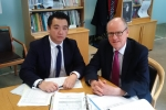 Alan Mak MP lobbies Schools Minister Nick Gibb MP at the Department for Education