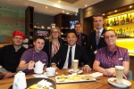 Alan Mak MP meeting with Whitbread Apprentices at Havant Premier Inn.